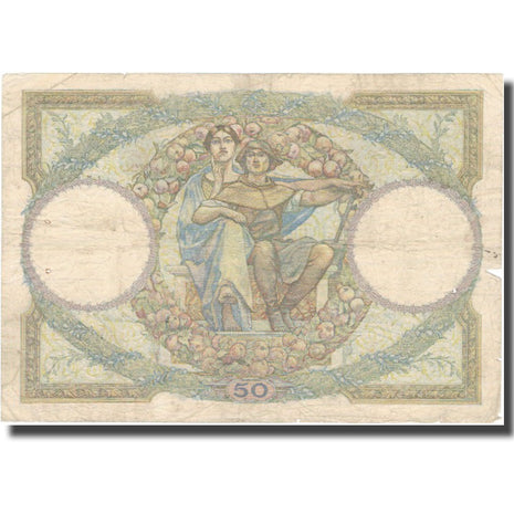France, 50 Francs, Luc Olivier Merson, 1930, 1930-07-24, TB, Fayette:16.1