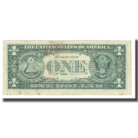 Billet, États-Unis, One Dollar, 2003, TB