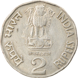 Monnaie, INDIA-REPUBLIC, 2 Rupees, 1995, TTB, Copper-nickel, KM:121.3