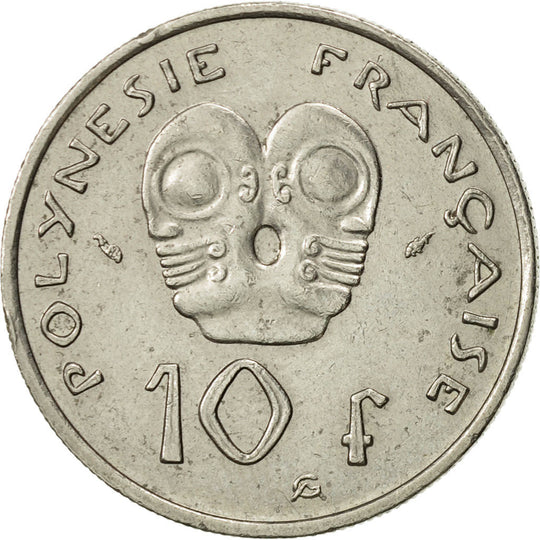 French Polynesia, 10 Francs, 1982, Paris, TTB+, Nickel, KM:8