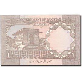Billet, Pakistan, 1 Rupee, Undated (1981-82), KM:25, NEUF