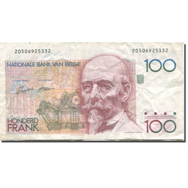 Billet, Belgique, 100 Francs, Undated (1982-94), KM:142a, TB