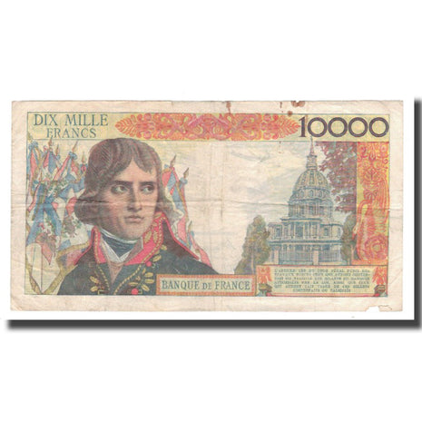 France, 10 000 Francs, Bonaparte, 1957, 1957-07-04, TB, Fayette:51.07