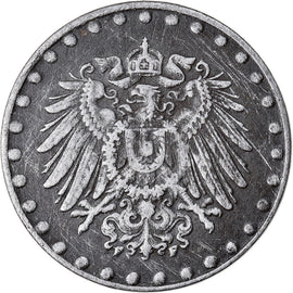 Monnaie, GERMANY - EMPIRE, 10 Pfennig, 1917, Stuttgart, TTB, Iron, KM:20