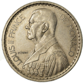 Monnaie, Monaco, Louis II, 10 Francs, 1946, SUP, Copper-nickel, Gadoury:MC136