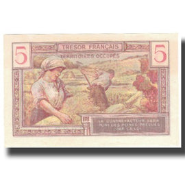 France, 5 Francs, 1947 French Treasury, 1947, 1947, SPL+, Fayette:VF29.1, KM:M6a