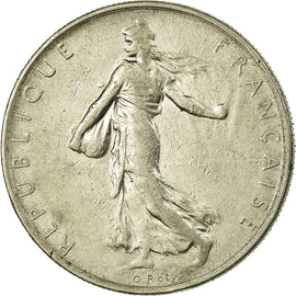 Monnaie, France, Semeuse, Franc, 1962, Paris, TTB, Nickel, Gadoury:474, KM:925.1