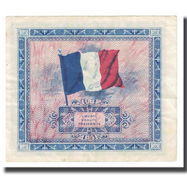 France, 10 Francs, Drapeau/France, 1944, TTB+, Fayette:VF18.1, KM:116a