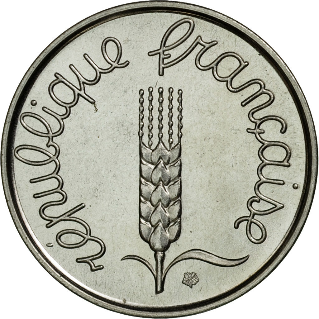 Monnaie, France, Épi, 2 Centimes, 1961, Paris, ESSAI, SPL, Chrome-Steel