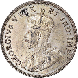 Monnaie, EAST AFRICA, George V, Shilling, 1925, SUP+, Argent, KM:21