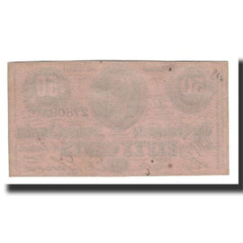 Billet, Confederate States of America, 50 Cents, 1864-02-17, SPL