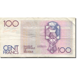 Billet, Belgique, 100 Francs, Undated (1982-94), KM:142a, TTB