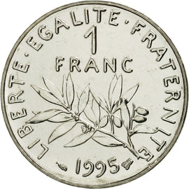 Monnaie, France, Semeuse, Franc, 1995, Paris, FDC, Nickel, KM:925.1, Gadoury:474