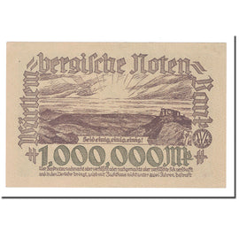 Billet, Etats allemands, 1 Million Mark, 1923, 1923-08-01, KM:S987, SPL