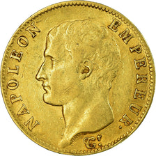 Monnaie, France, Napoléon I, 20 Francs, AN 13, Paris, TB+, Or, Gadoury:1022
