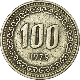 Monnaie, KOREA-SOUTH, 100 Won, 1979, TB+, Copper-nickel, KM:9