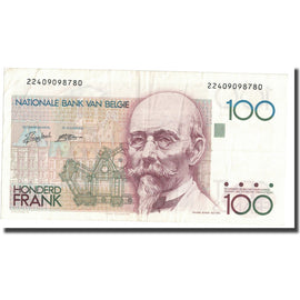 Billet, Belgique, 100 Francs, Undated (1982-94), KM:142a, SUP