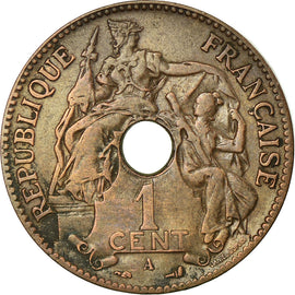 Monnaie, FRENCH INDO-CHINA, Cent, 1903, Paris, TTB, Bronze, KM:8, Lecompte:59