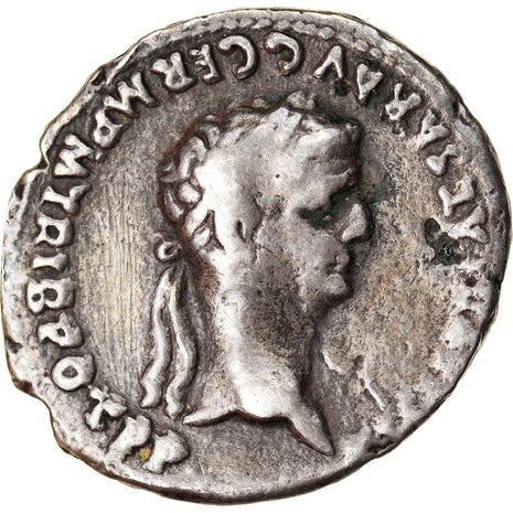 Monnaie, Claudius and Agrippina, Denier, 50-51, Rome, TB+, Argent, RIC:81