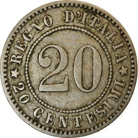 Monnaie, Italie, Umberto I, 20 Centesimi, 1894, Berlin, TTB, Copper-nickel