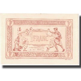France, 1 Franc, 1917-1919 Army Treasury, 1917, 1917, SPL+, Fayette:VF03.14