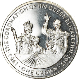 Monnaie, Isle of Man, Crown, 2013, Pobjoy Mint, 50ème anniversaire du