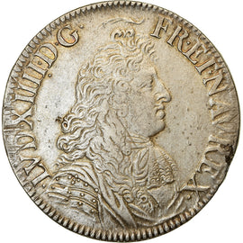 Monnaie, France, Louis XIV, Écu à la cravate, Ecu, 1679, Paris, TTB, Argent