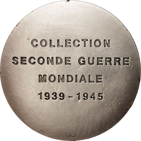 France, Medal, Collection Seconde Guerre Mondiale, Général De Gaule,
