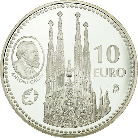 Espagne, 10 Euro, 2010, Proof, FDC, Argent, KM:1169