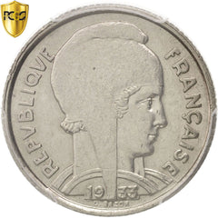 Monnaie, France, Bazor, 5 Francs, 1933, Paris, PCGS, MS62, SUP+, Nickel, KM:887