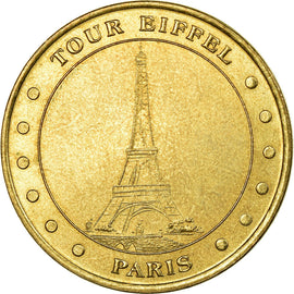 France, Jeton, Jeton Touristique, Paris - La Tour Eiffel n°2, 2002, MDP, TTB