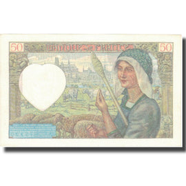 France, 50 Francs, Jacques Coeur, 1941, 1941-07-17, SUP+, Fayette:19.12, KM:93
