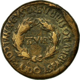 Monnaie, Spain, Auguste, As, Bilbilis, TB, Cuivre
