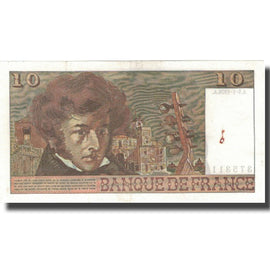 France, 10 Francs, Berlioz, 1976, 1976-07-01, SUP, Fayette:63.17.283, KM:150c