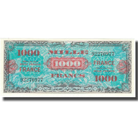 France, 1000 Francs, 1945 Verso France, 1945, 1945, SPL+, Fayette:VF 27.1