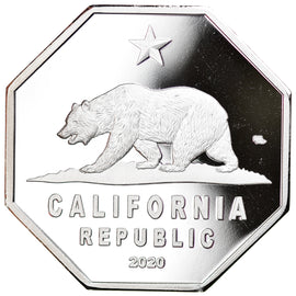 Monnaie, États-Unis, 20 Dollars, 2020, U.S. Mint, Californie - Parc national de