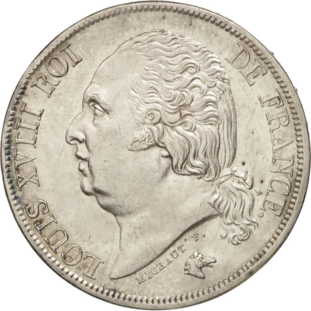 France, Louis XVIII, 2 Francs, 1822, Paris, SUP, Argent, KM:710.1, Gadoury 513