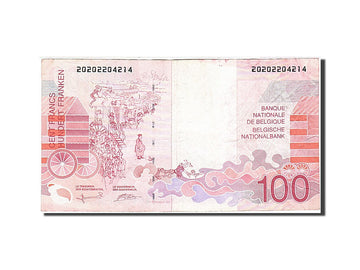 Billet, Belgique, 100 Francs, 1994-1997, Undated (1995-2001), KM:147, TTB