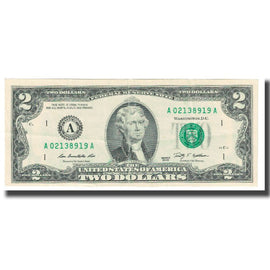 Billet, États-Unis, Two Dollars, 2009, TTB