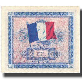 France, 5 Francs, Drapeau/France, 1944, 1944, SUP+, Fayette:vF 17.1, KM:115a