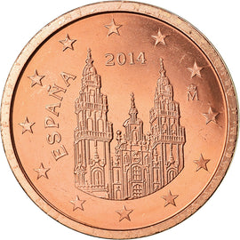Espagne, 2 Euro Cent, 2014, SUP, Copper Plated Steel
