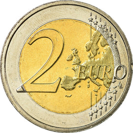 Luxembourg, 2 Euro, 100 th anniversary of the death of william IV, 2012, SUP