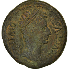 Monnaie, Spain, Auguste, As, 27 BC- AD 14, Bilbilis, TB+, Bronze