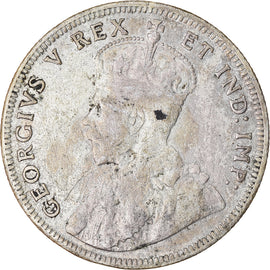Monnaie, EAST AFRICA, George V, Florin, 1920, TB+, Argent, KM:17