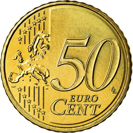 Luxembourg, 50 Euro Cent, 2014, SUP, Laiton