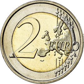 Belgique, 2 Euro, 2015, SUP, Bi-Metallic, KM:New