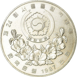 Monnaie, KOREA-SOUTH, 1000 Won, 1988, TTB, Copper-nickel, KM:49