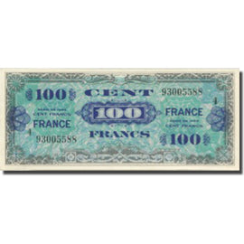 France, 100 Francs, 1945 Verso France, 1945, 1945-06-04, SPL, Fayette:VF 25.04