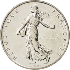 France, Semeuse, Franc, 1994, Paris, SPL, Nickel, KM:925.1, Gadoury:474