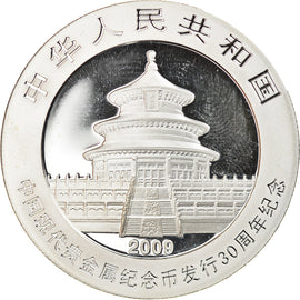 Monnaie, CHINA, PEOPLE'S REPUBLIC, 10 Yüan, 2009, FDC, Argent, KM:1896